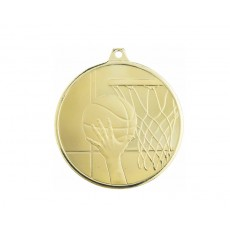 17. Basketball Glacier Frosted Medal, 50mm