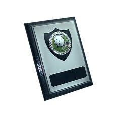 "2"" Holder, Shadow Black Plaque"