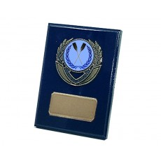 "01. Rowing 2"" Holder, Royal Blue Plaque"