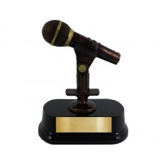 07. Music Microphone Trophy