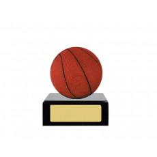 18. Basketball on Black Base