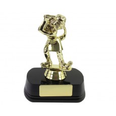 40. Female Golf Comic Trophy