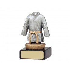 12. Karate Figure on Black Base