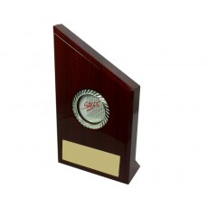 Sales Piano Finish Wooden Peak, Standing Plaque