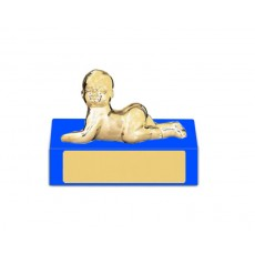 02. Baby Figure on Blue Base