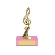 14. Music Pink Base Colour Trophy
