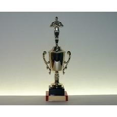 31. Achievement Figure Gold Cup, Black & Mandarin Base