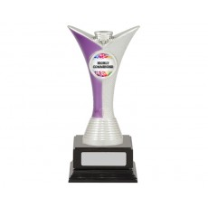 Achievement Purple/Silver Trophy, Black Base