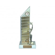 12. Sales Perpetual Pewter Colour Trophy