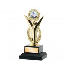 """03. 1"""" Holder, Pigeon Button Trophy"""