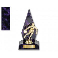 58. Basketball Purple Colour Trophy