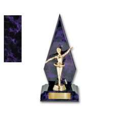 09. Ballet Purple Colour Trophy