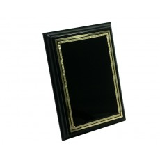 Black Plaque, Black Brass Plate