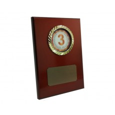 "2"" Holder, Bronze Desk Plaque"