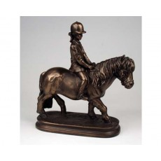 20. Bronze Riding Pony Trophy