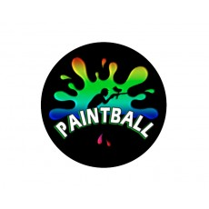 Paintball Acrylic Button