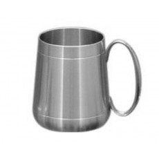 04. Oriental Pewter Charles Tankard, Rounded, 20oz