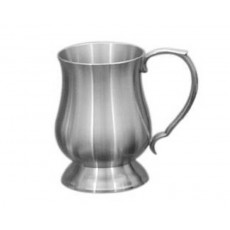 10. Oriental Pewter 'Georgian' Tankard, 20oz