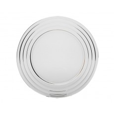 01. Porto 'Baguette' Charger Glass Plate 320mm