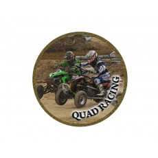 Motor Sport - Quad Racing Acrylic Button