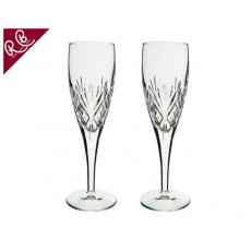 11.  Royal Brierley Berkeley Set of 2 Flutes, 180mL