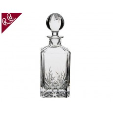 10. Royal Brierley Berkeley Square Decanter, 25cm