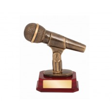 10. Music Microphone Trophy