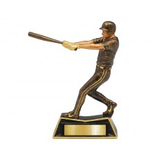 Baseball Male Action Resin Trophy