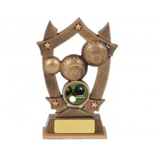 Bowls Star Resin Trophy
