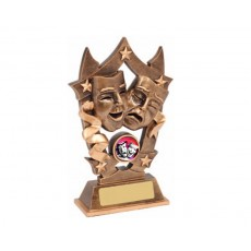 07. Small Drama Star Resin Trophy