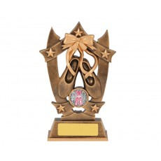 Ballet Shield & Stars Resin Trophy