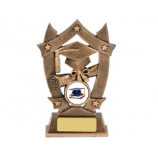 Graduation Star Resin Trophy