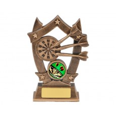 Darts Star Resin Trophy