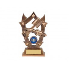 30. Large Motor Sport Stars Resin Trophy