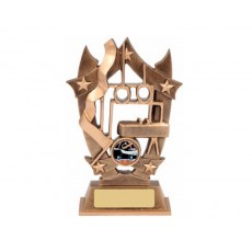 Gymnastics Star Resin Trophy
