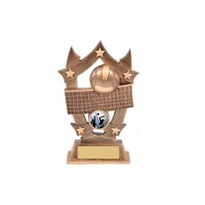 13. Medium Volleyball Resin Trophy