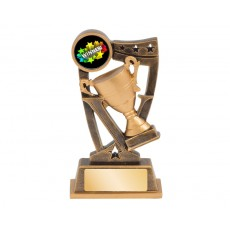 33. Small Victory Trophy Cup 'Spirit' Series Resin Trophy