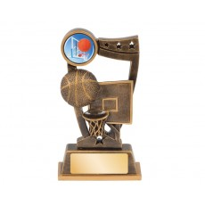 Basketball 'Spirit' Series Resin Trophy