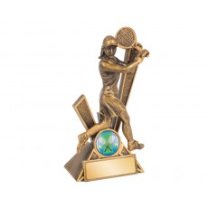 Female Tennis 'Storm' Series Resin Trophy