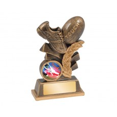 02. Medium Touch Football Resin Trophy