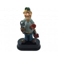 01. Plumber Figurine on Base
