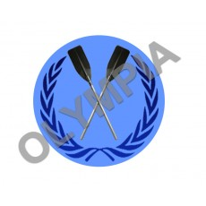 Rowing Acrylic Button