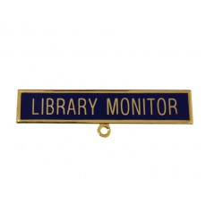 Library Monitor - School Badges