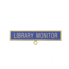 Library Monitor School Badge