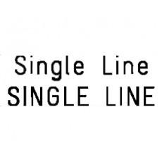 03. SINGLE LINE FONT