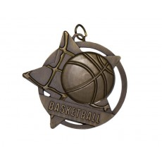 13. Basketball Star Medal