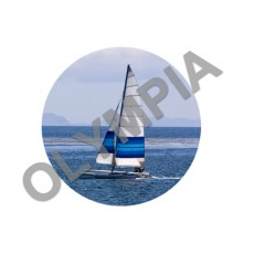 Sailing Acrylic Button