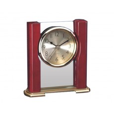 24. Glass & Timber Table Alarm Clock
