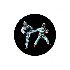 Taekwondo Acrylic Button