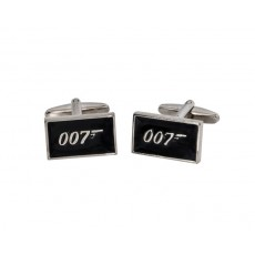 02. Men's Cufflinks 'James Bond - 007', Gift Boxed